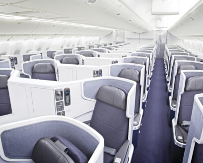 American Airlines 777-300ER Business Class from LAX-HKG