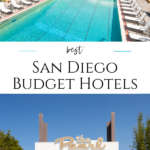 Cheap hotels in San Diego don't always mean sacrifice. These spots have great decor, ideal locations, fun amenities, & food even locals love.