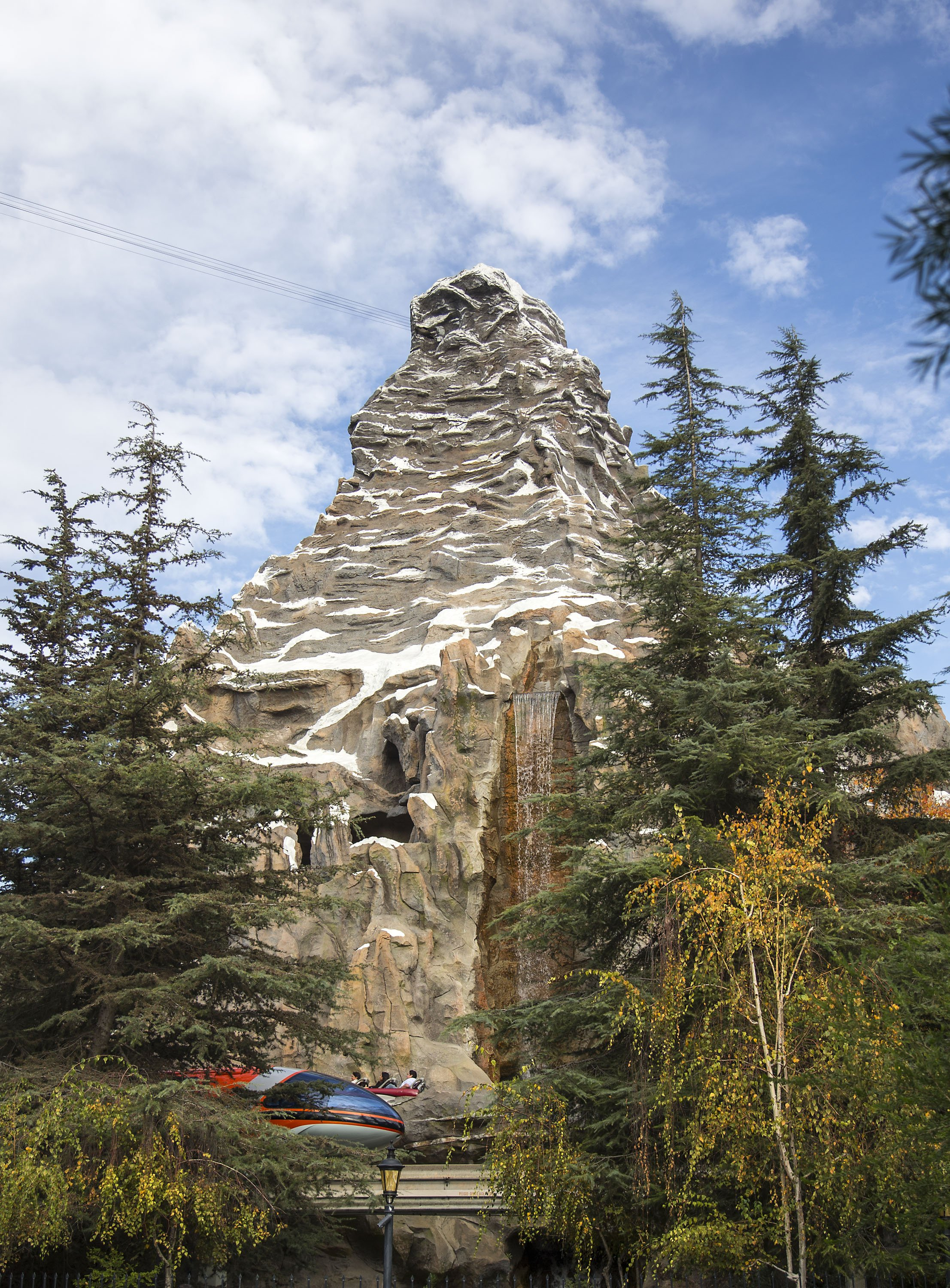 The Matterhorn at Disneyland Resort is a classic ride.