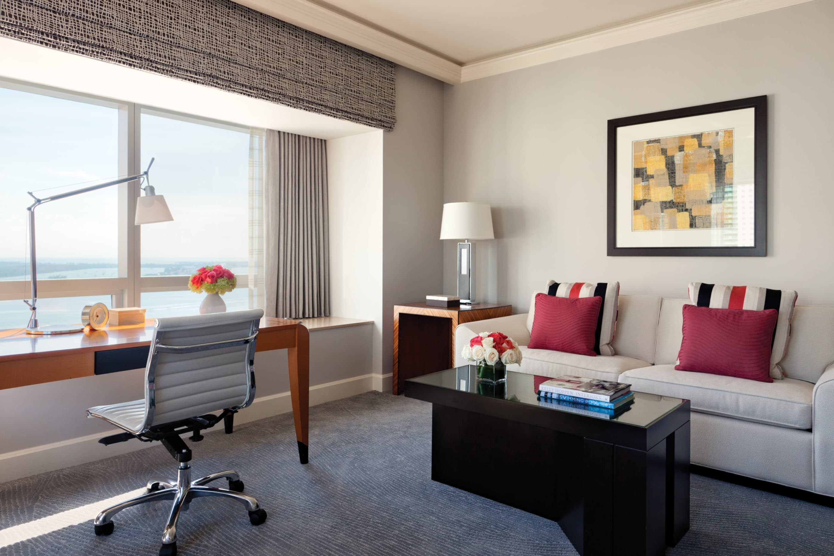 Four Seasons Hotel Miami: Executive Suites come with bay or city views