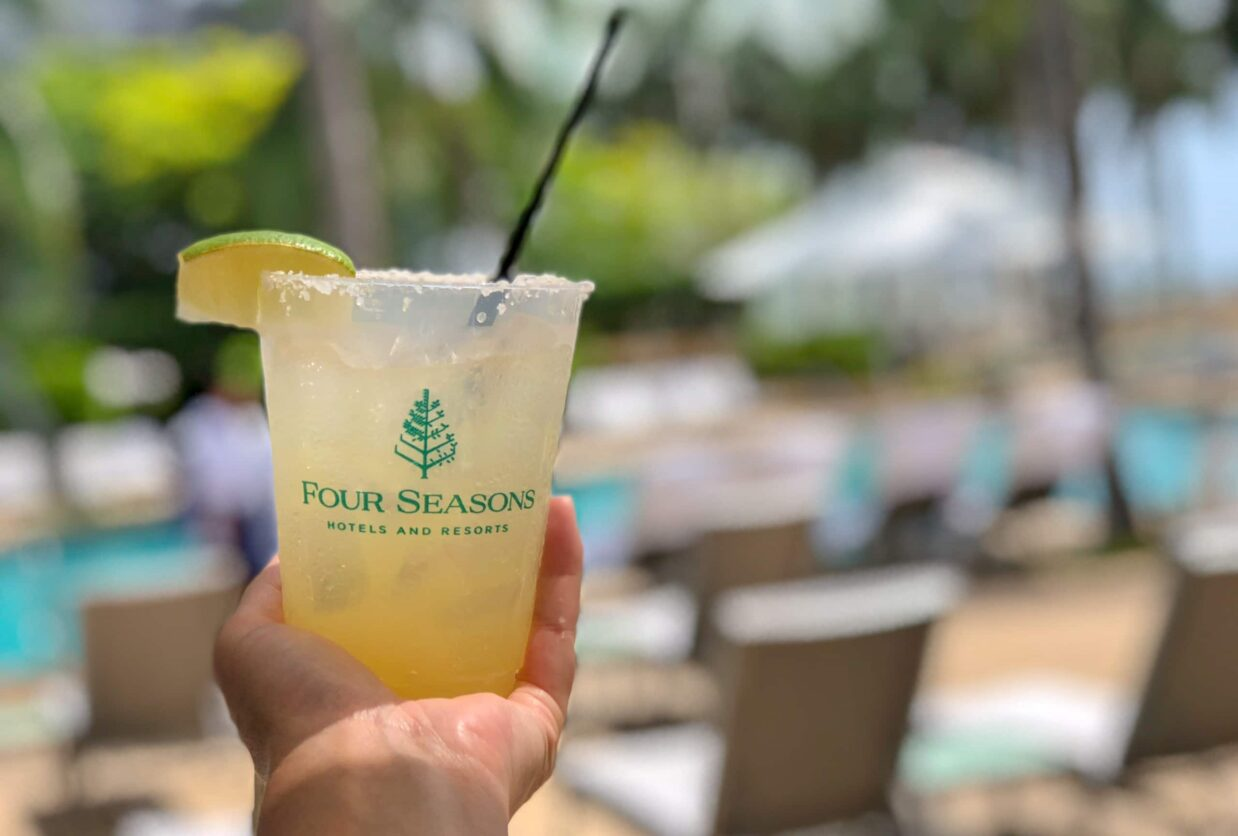 four seasons miami pool margarita