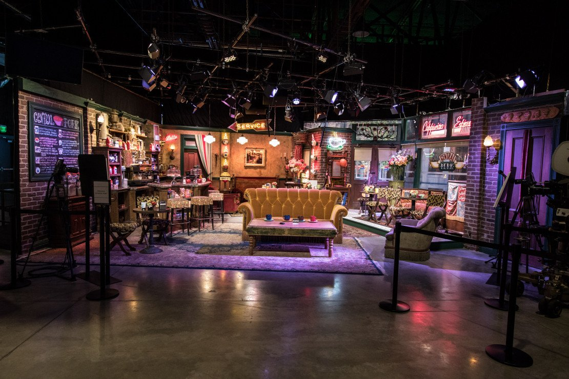 "Central Perk from ""Friends"" at Warner Bros. Studio Tour"