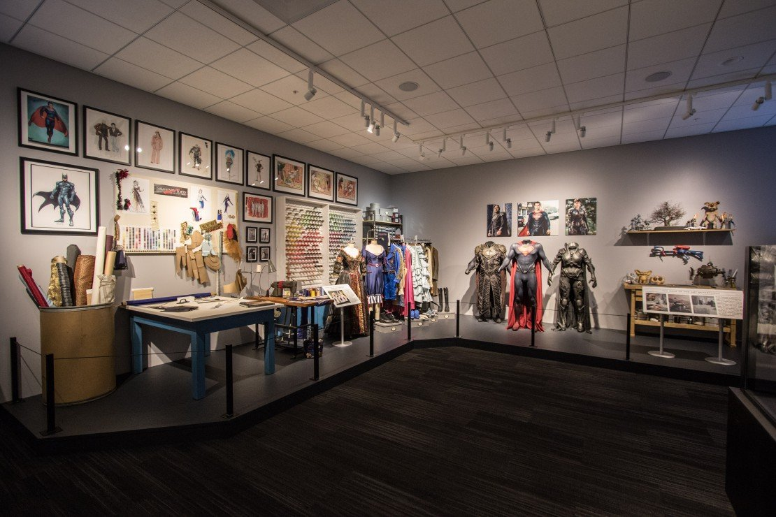 Warner Bros. Studio Tour Hollywood Marvel costumes