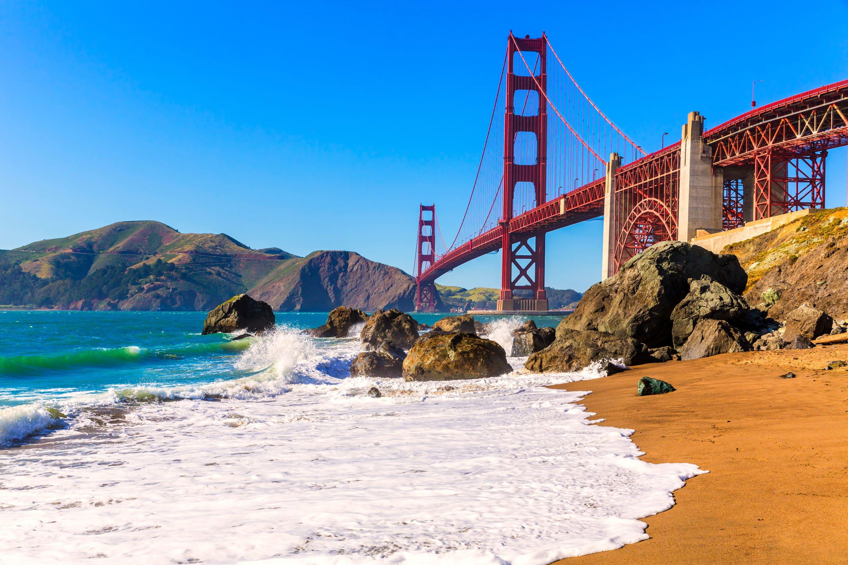 San Francisco Beaches: Marshall's Beach