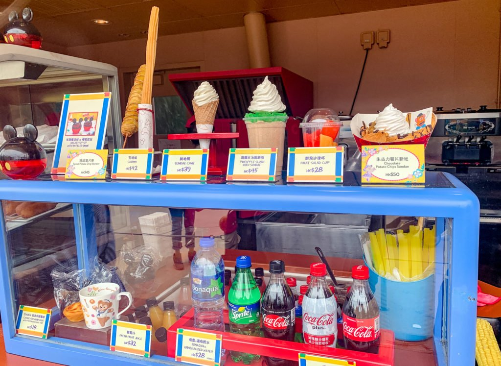 Jessie's Snack Cart at Hong Kong Disneyland