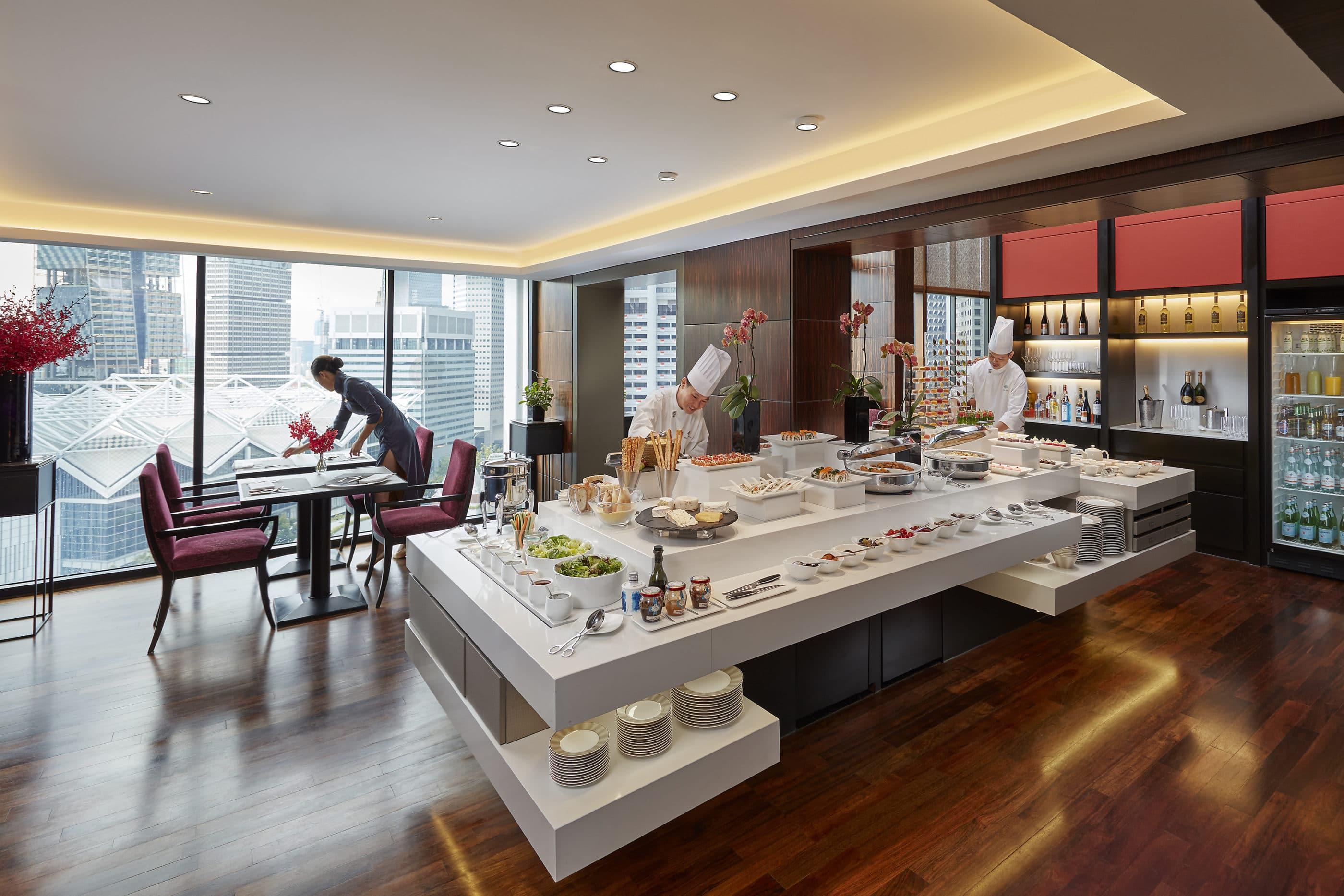 Club Lounge at Mandarin Oriental, Singapore