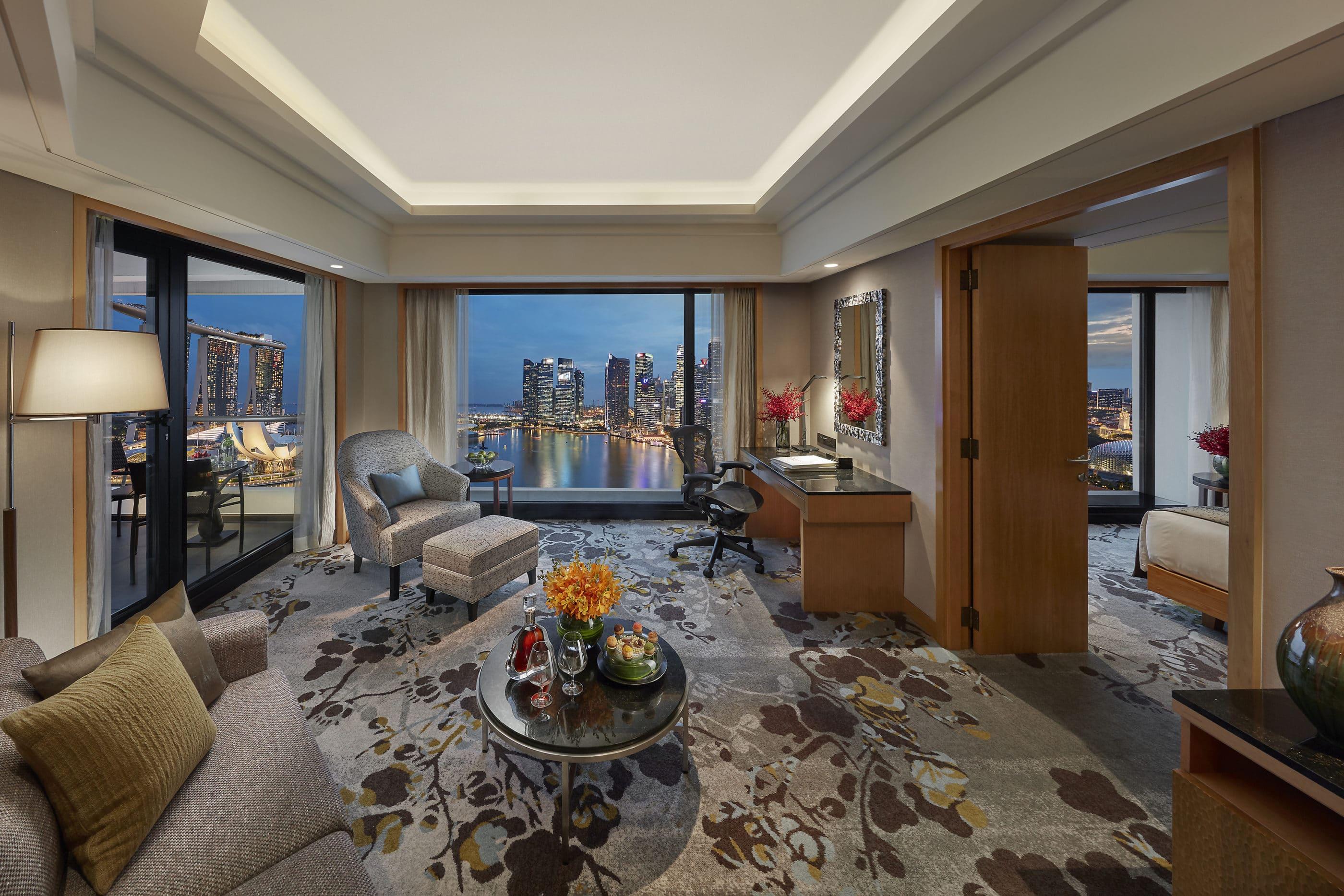 Mandarin Oriental, Singapore Marina Bay Suite