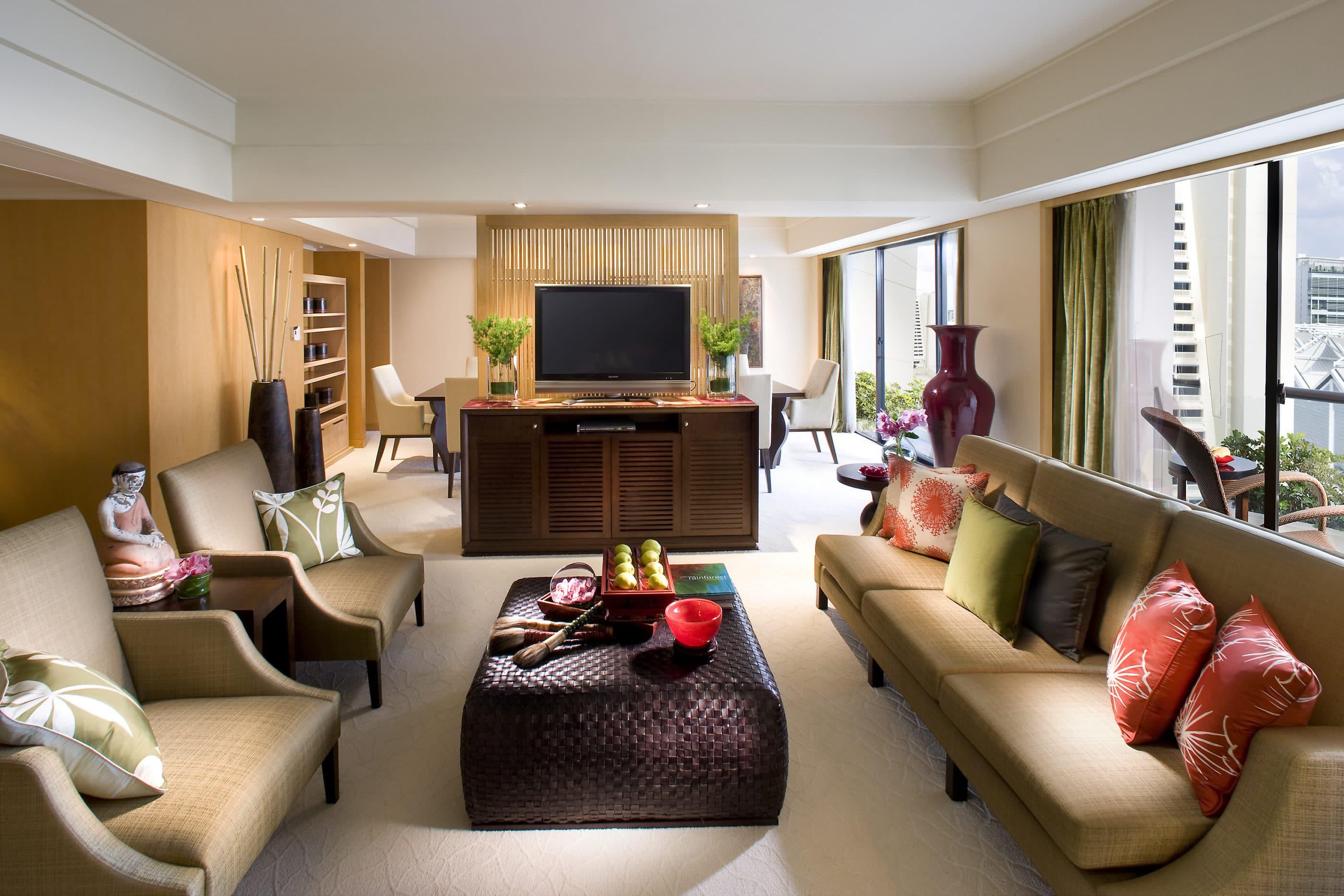Mandarin Oriental Singapore Two Bedroom Suite
