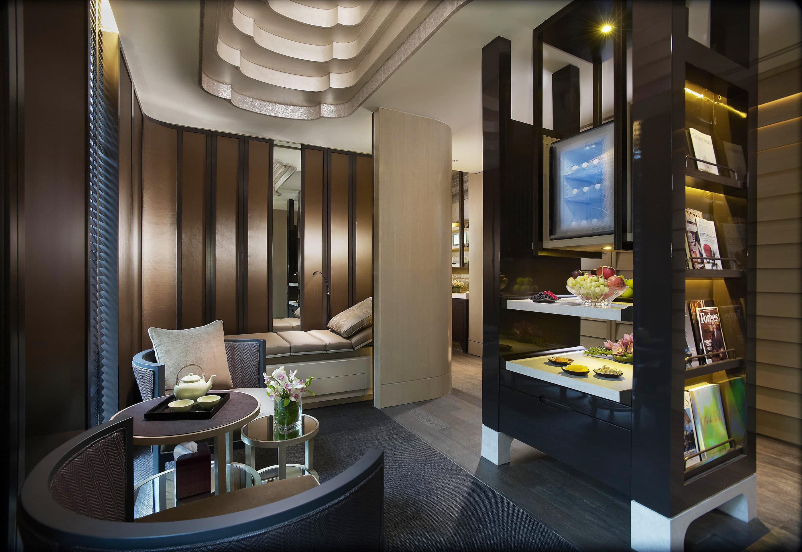 The Spa at Mandarin Oriental, Singapore Tea Lounge