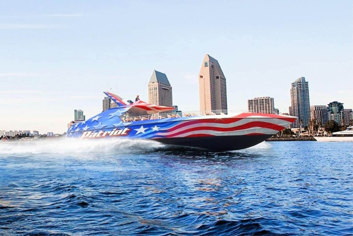 San Diego Tours: Patriot Jet Boat Thrill Ride