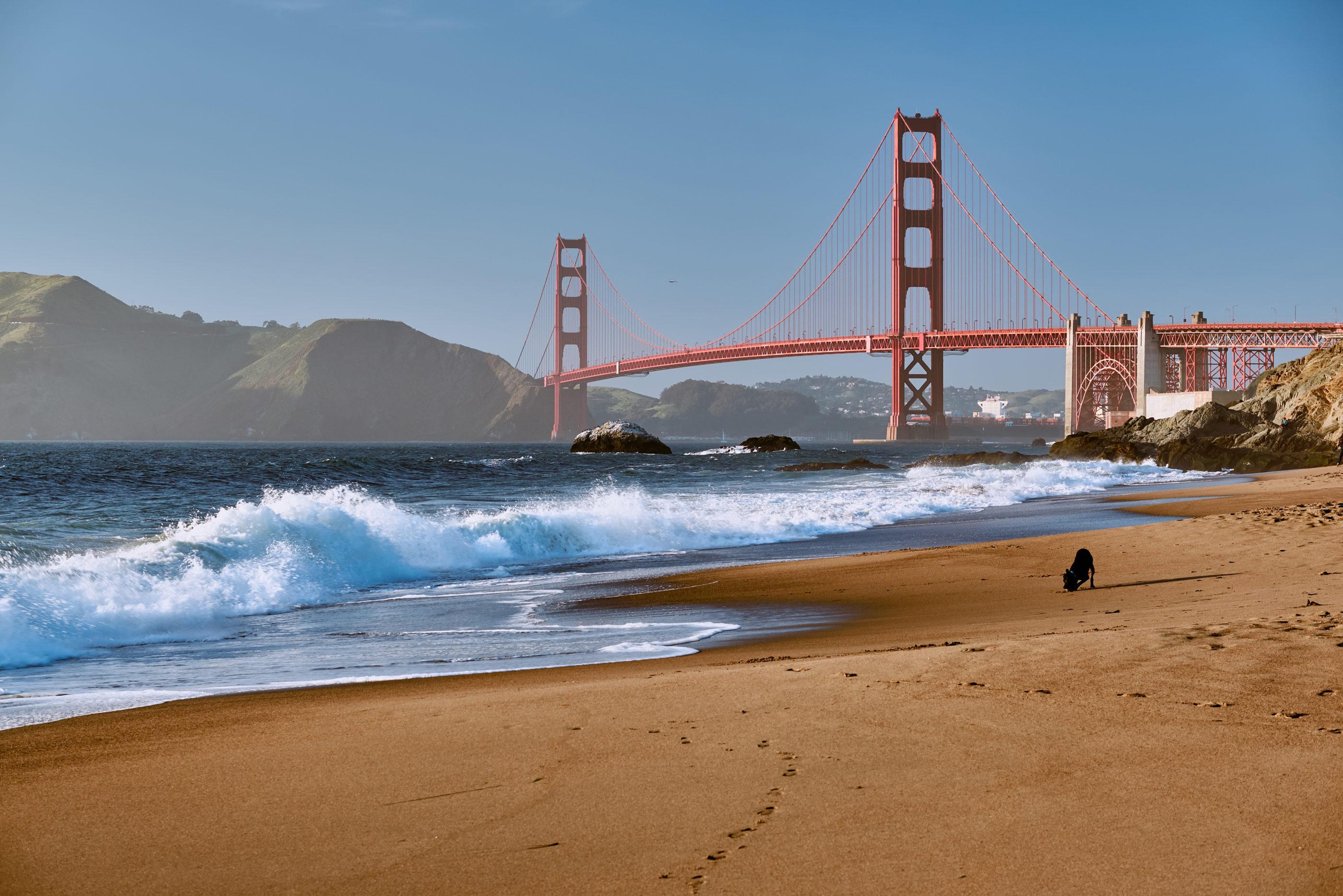 Best San Francisco beaches: Baker Beach