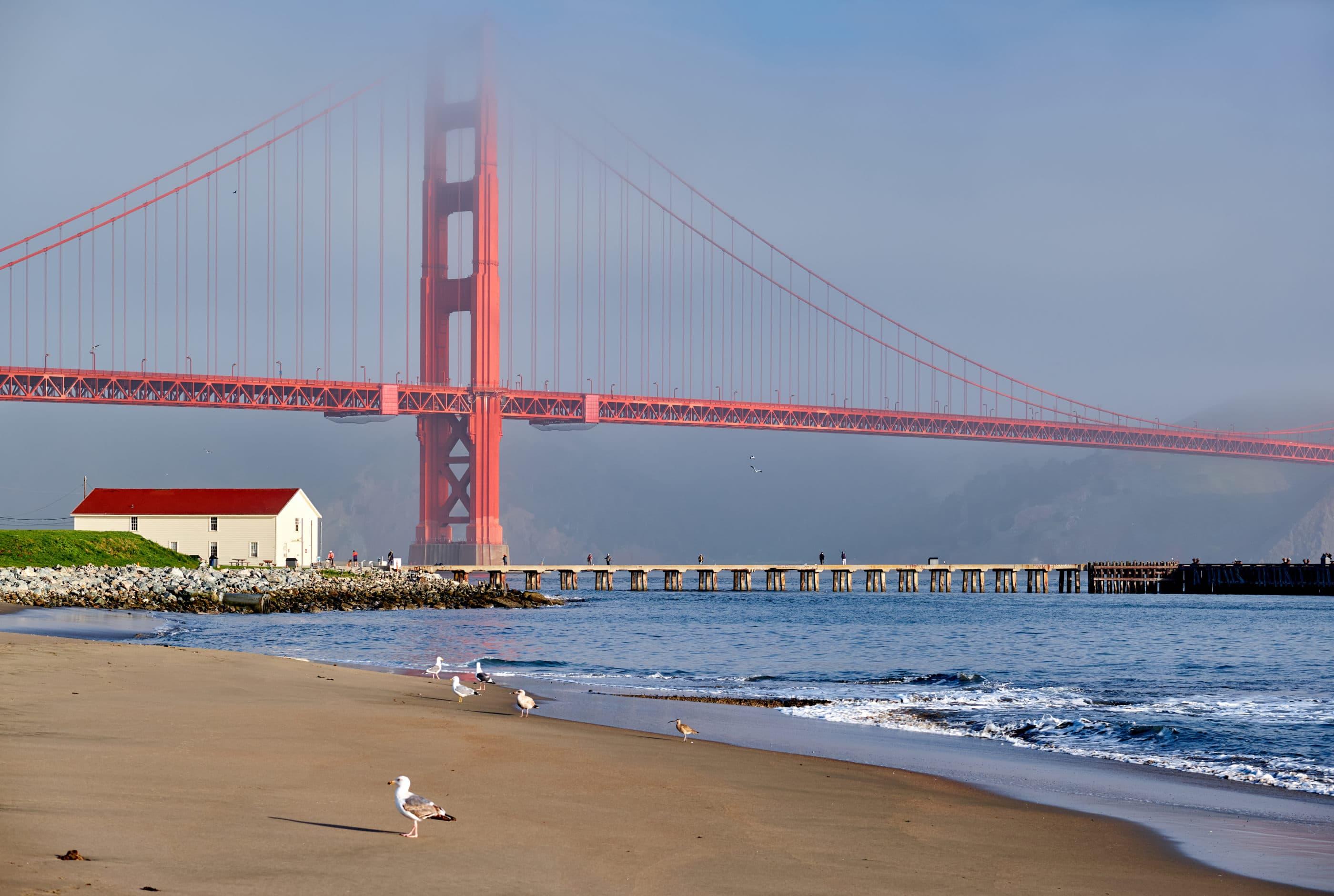Best San Francisco beaches: Crissy Field East Beach