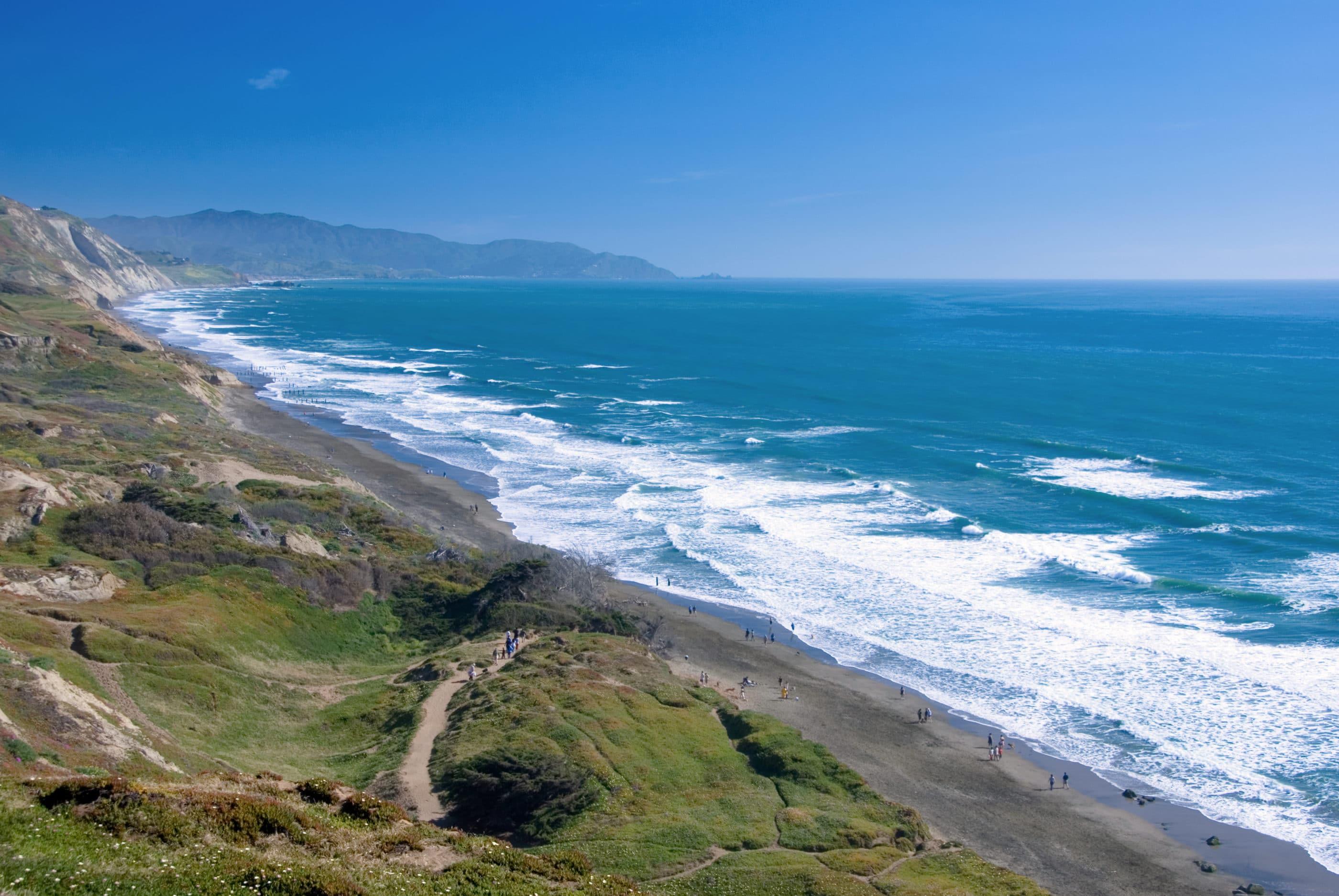 San Francisco beaches: Fort Funston