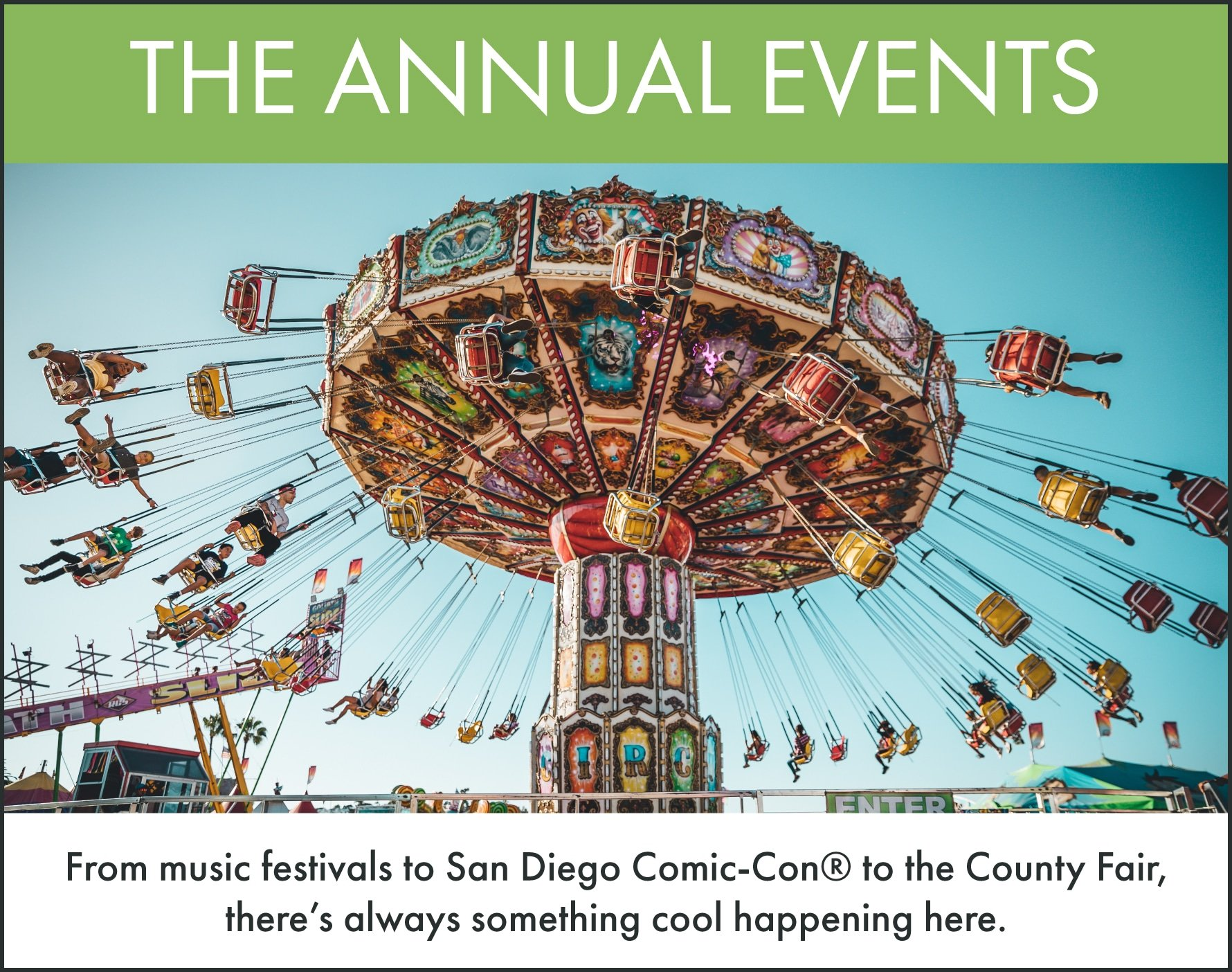 Things to Do in San Diego: Annual Events