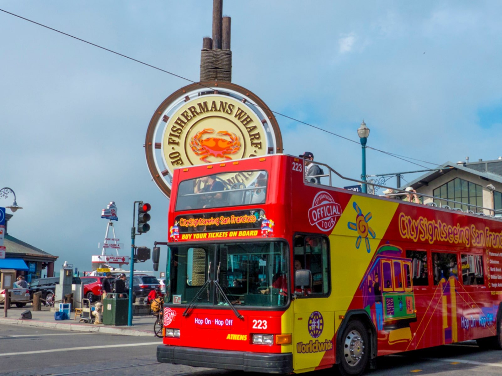 Things to do in San Francisco: City Sightseeing Bus Tours