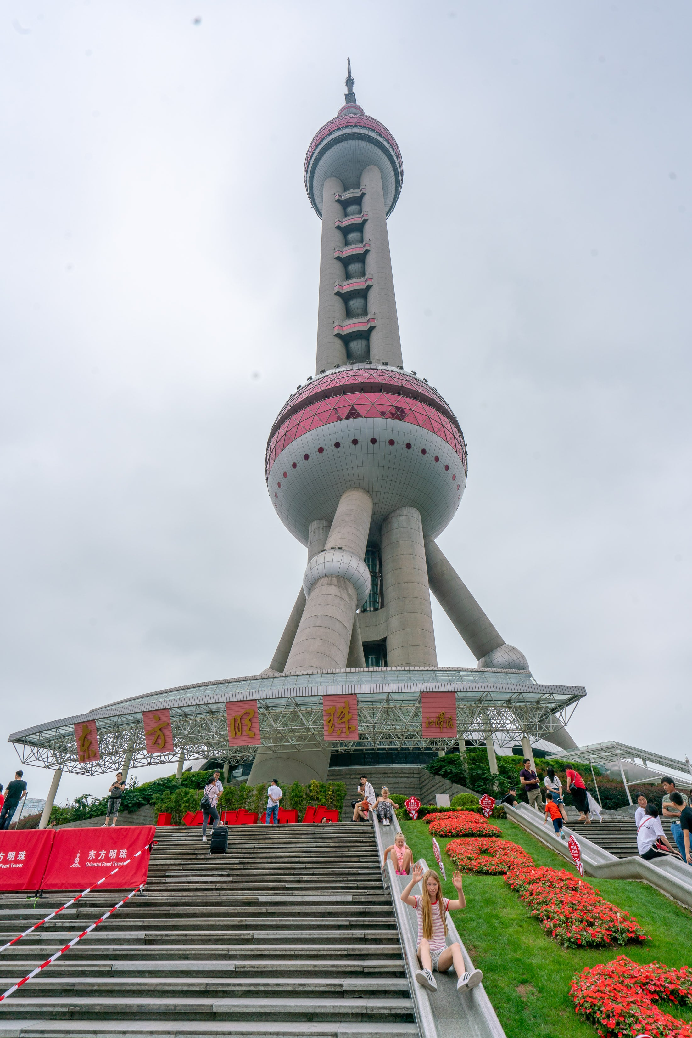 Things to do in Shanghai: Visit the Oriental Pearl Tower