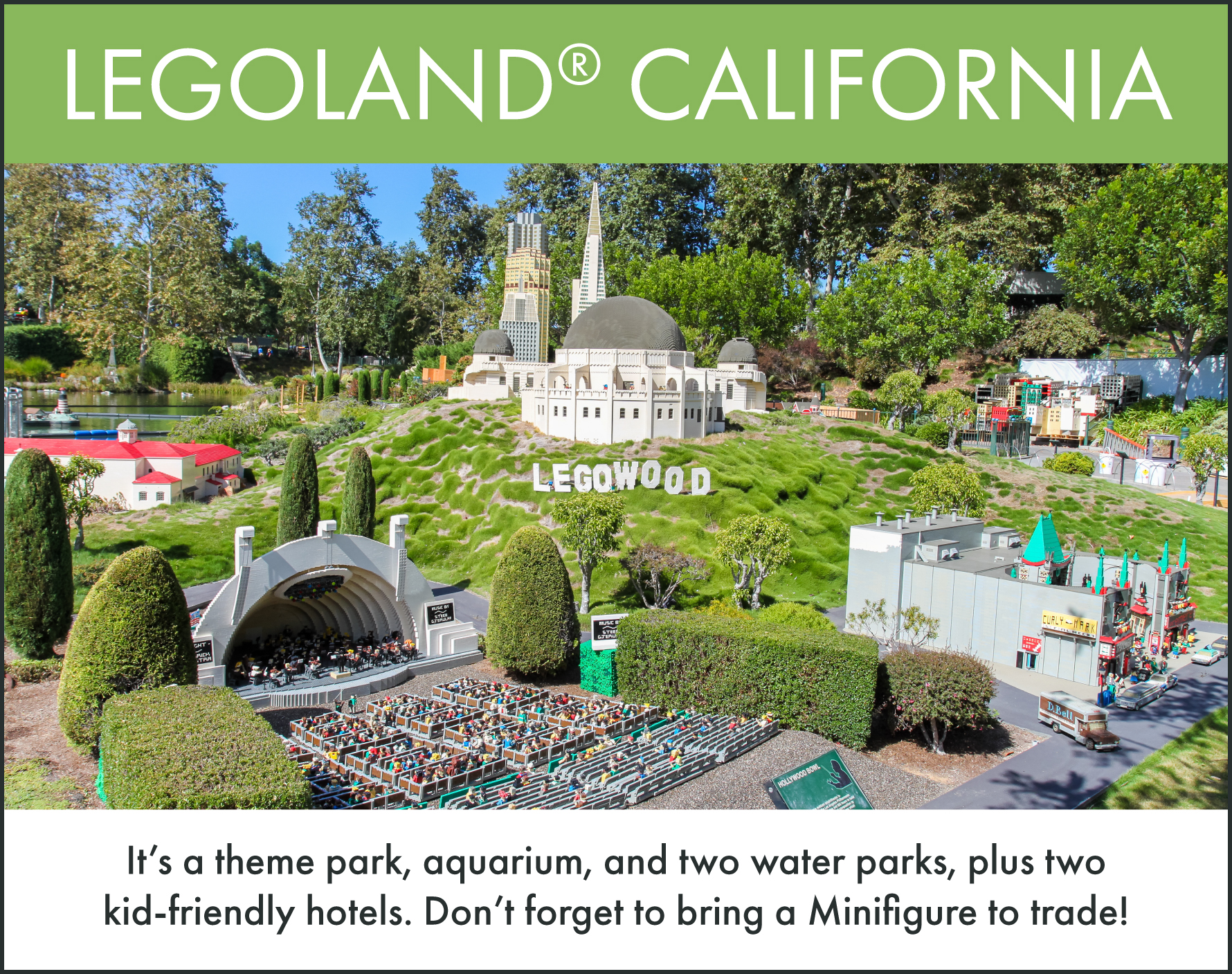 Top things to do in San Diego: LEGOLAND California