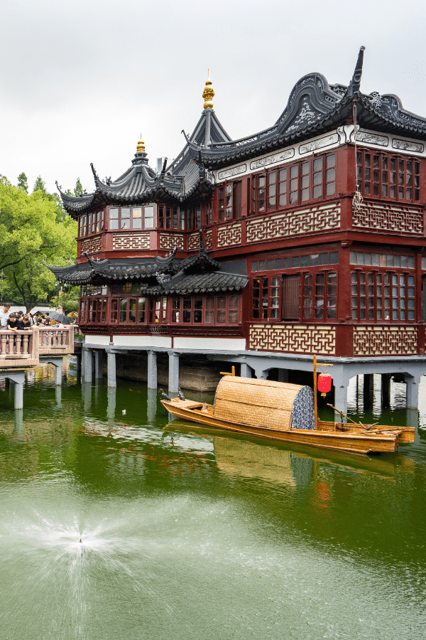 Exploring and shopping in Yu Garden is one of the best things to do in Shanghai, China.