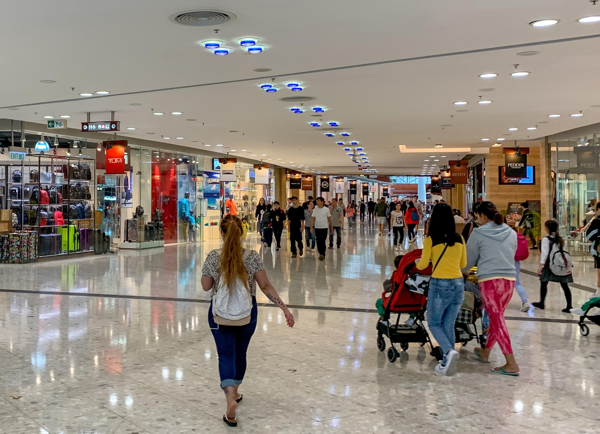 Hong Kong shopping: Citygate Outlets