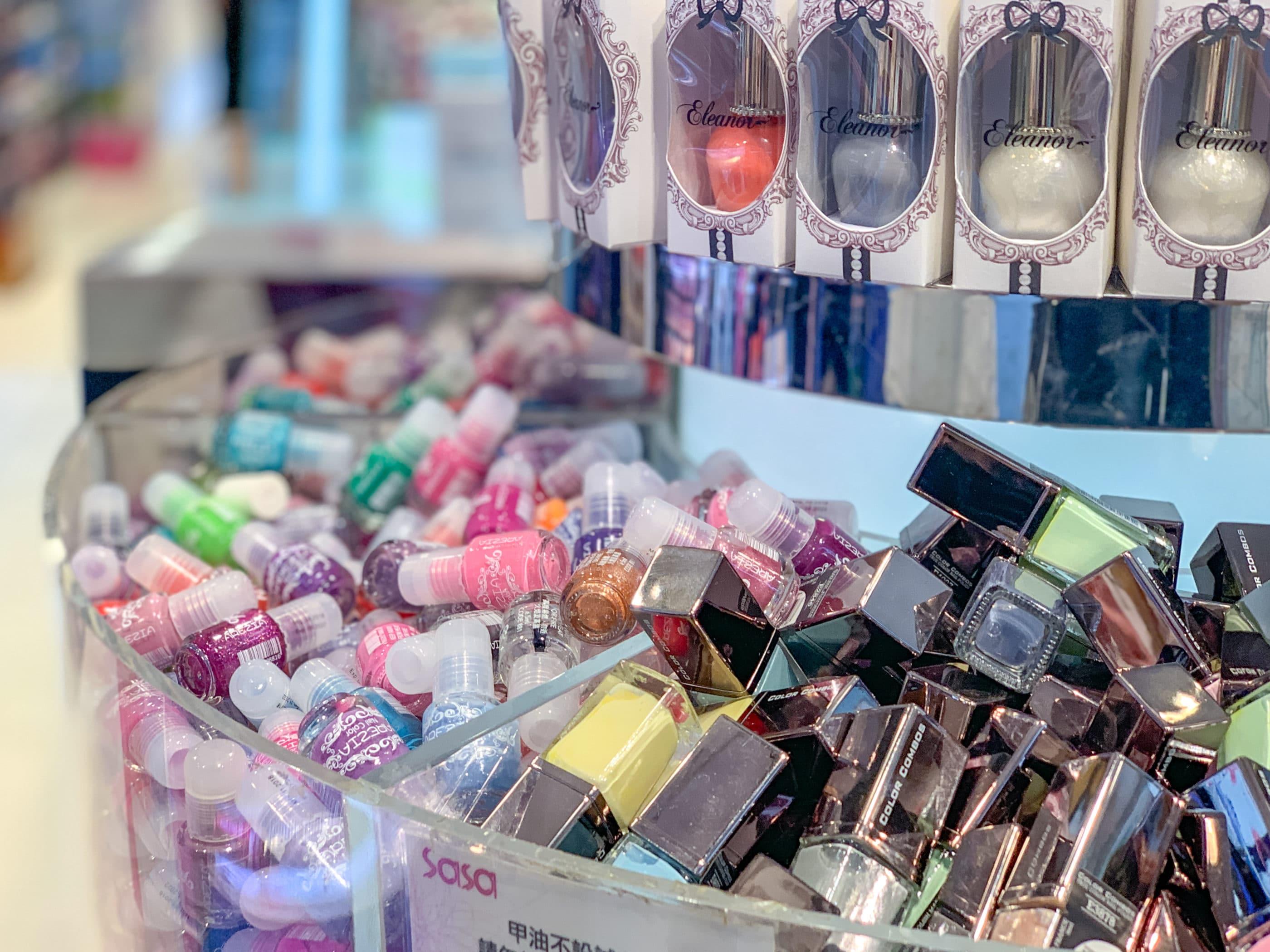 Hong Kong Shopping: Sasa Cosmetics