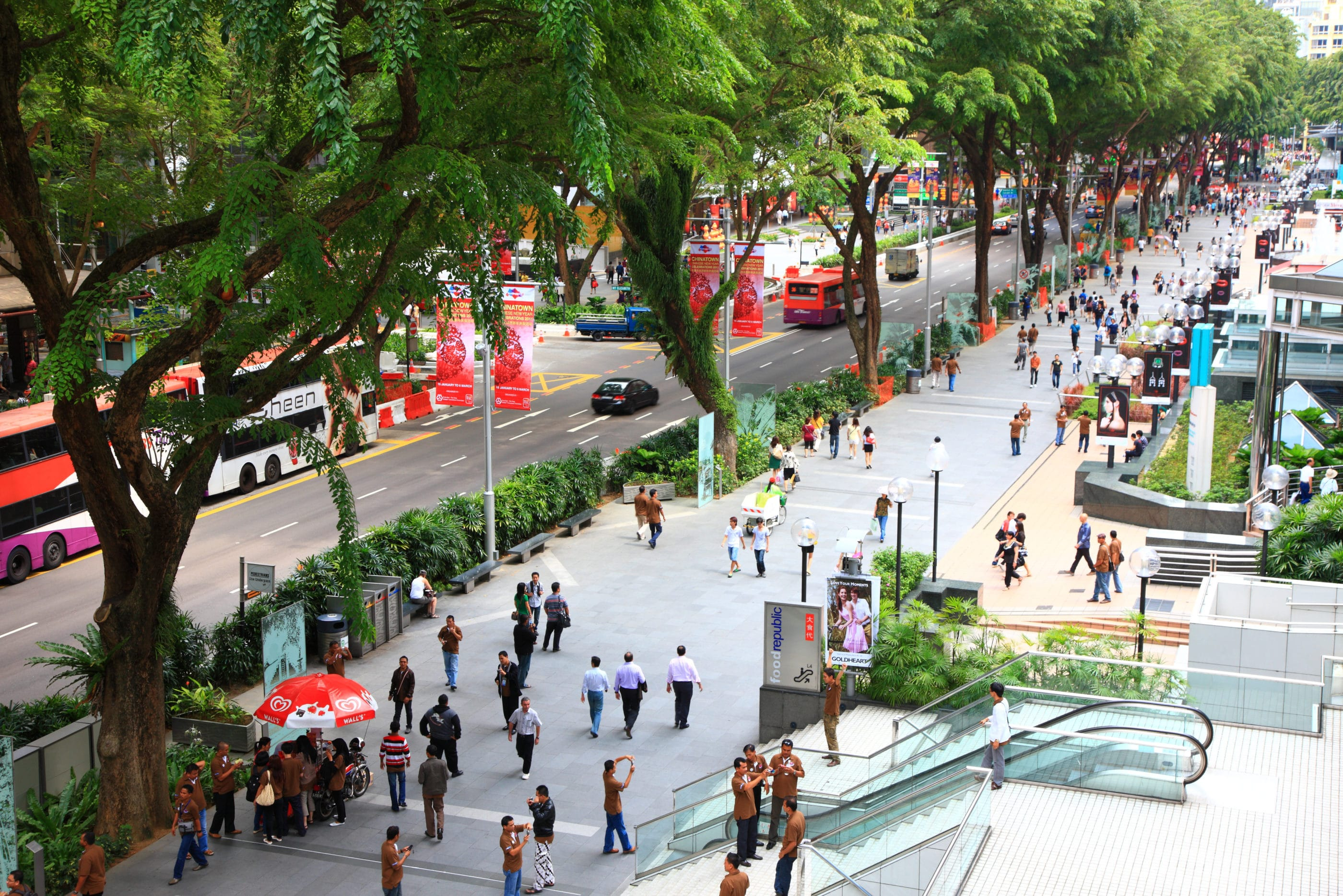 Things to do in Singapore: Go shopping on Orchard Road