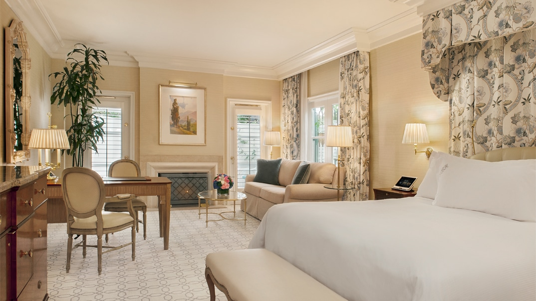 Grand Deluxe Guestroom at The Peninsula Beverly Hills
