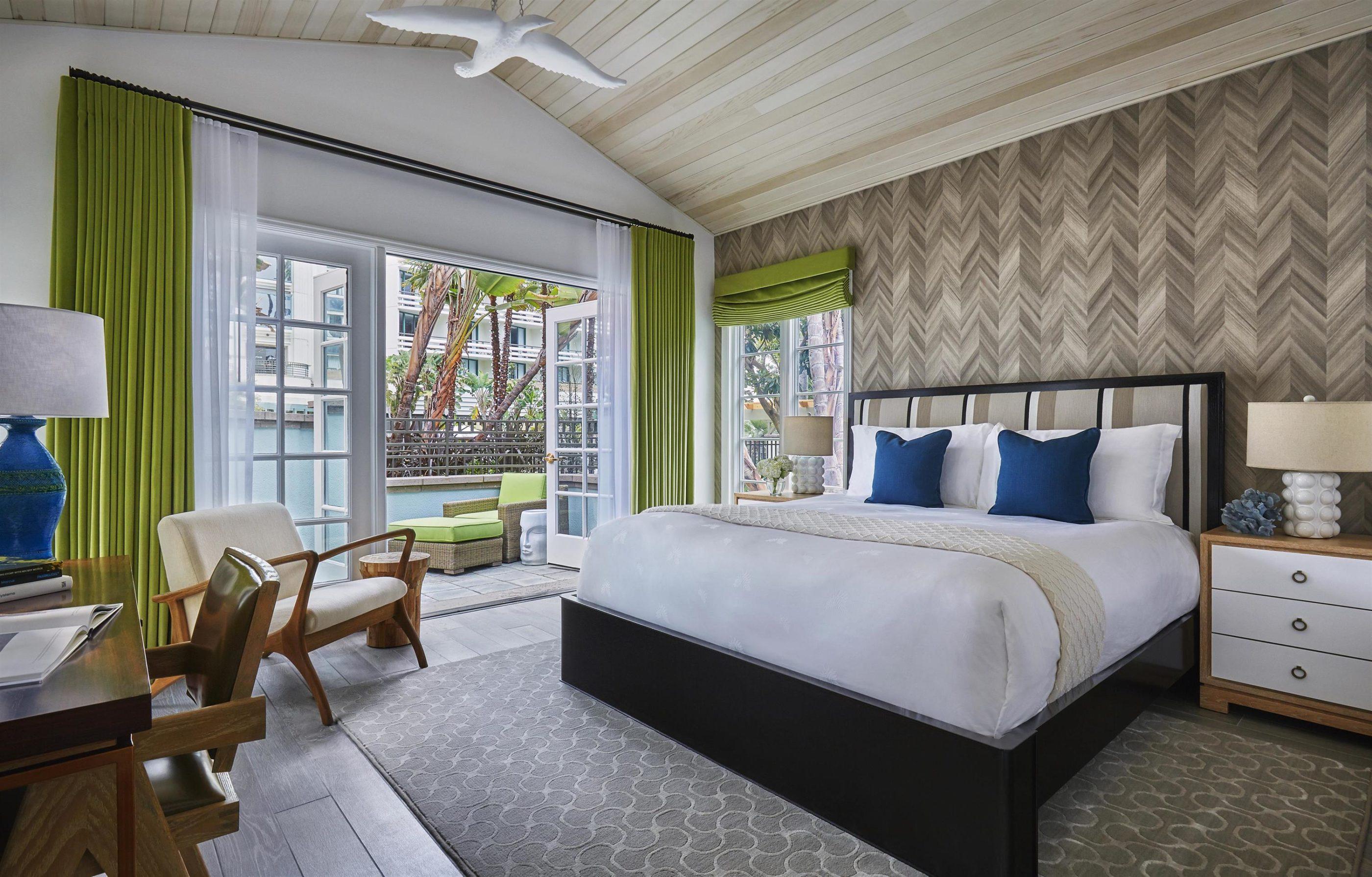 Signature Bungalow room at Fairmont Miramar Hotel and Bungalows in Santa Monica