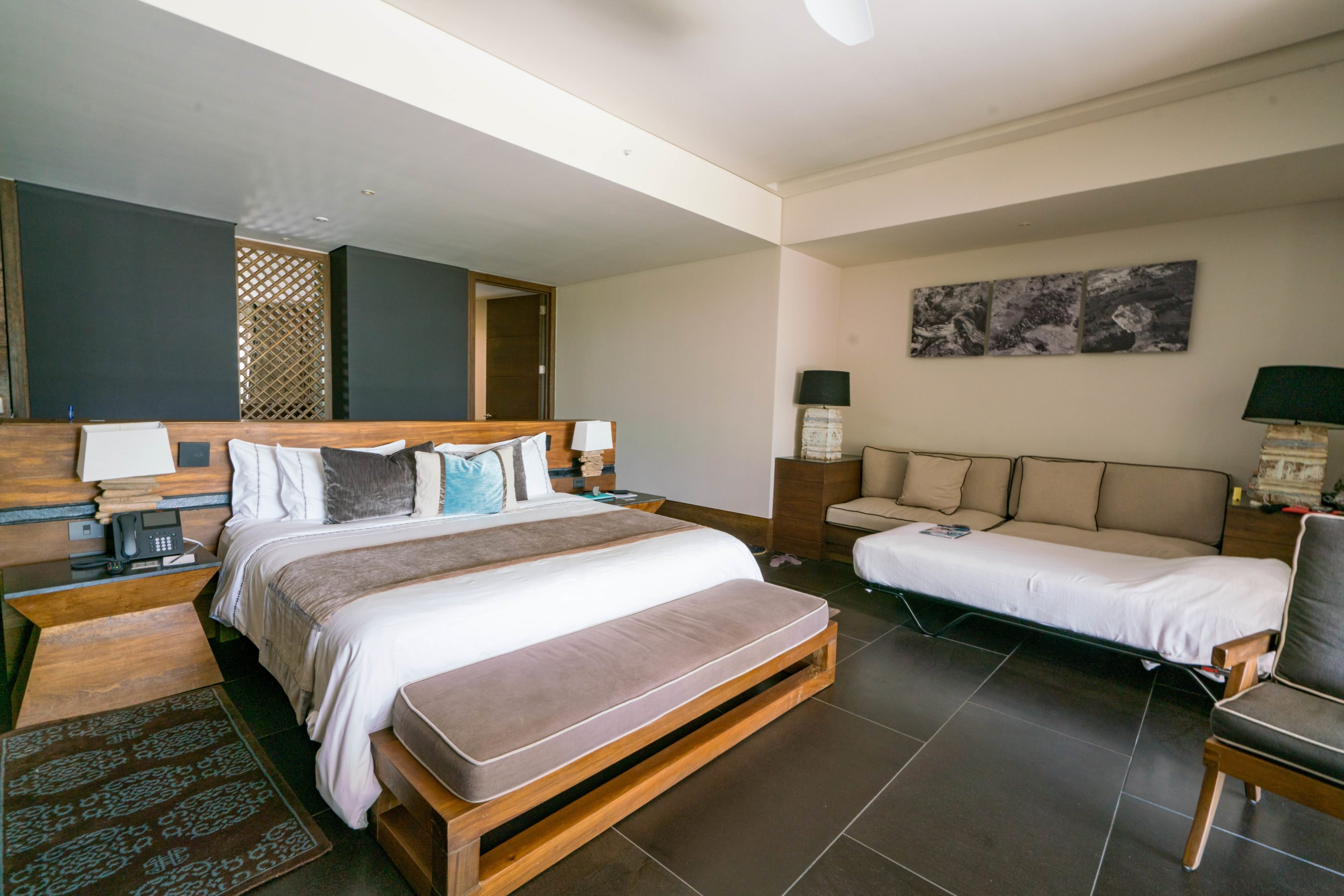 Bedroom of Garden Junior Suite at Nizuc
