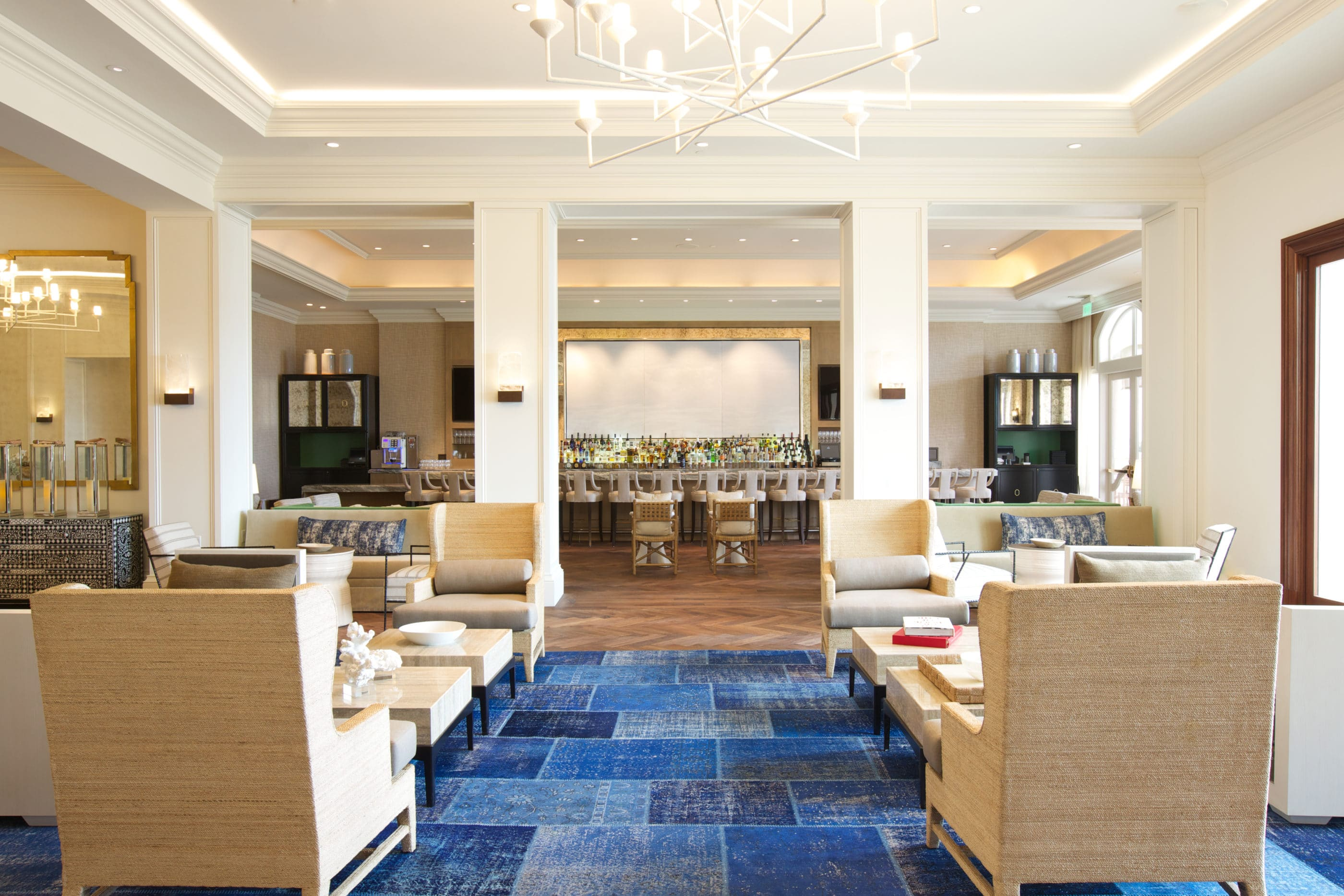 Photo from lounge to bar area at 33 North inside Monarch Beach Resort