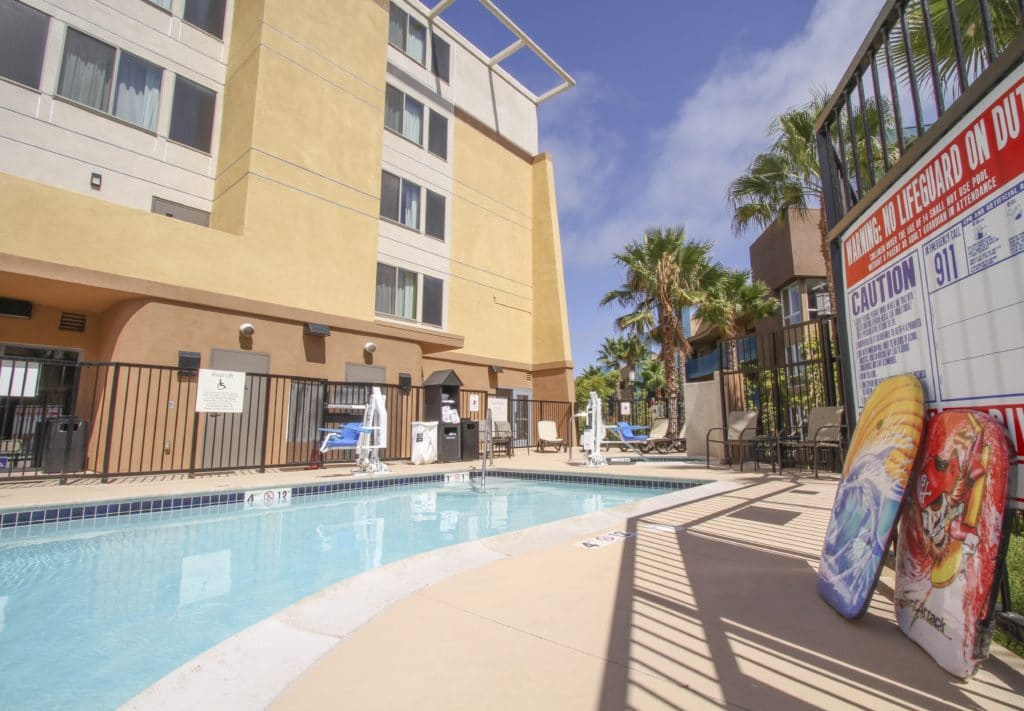 Pool at Holiday Inn Oceanside Marina