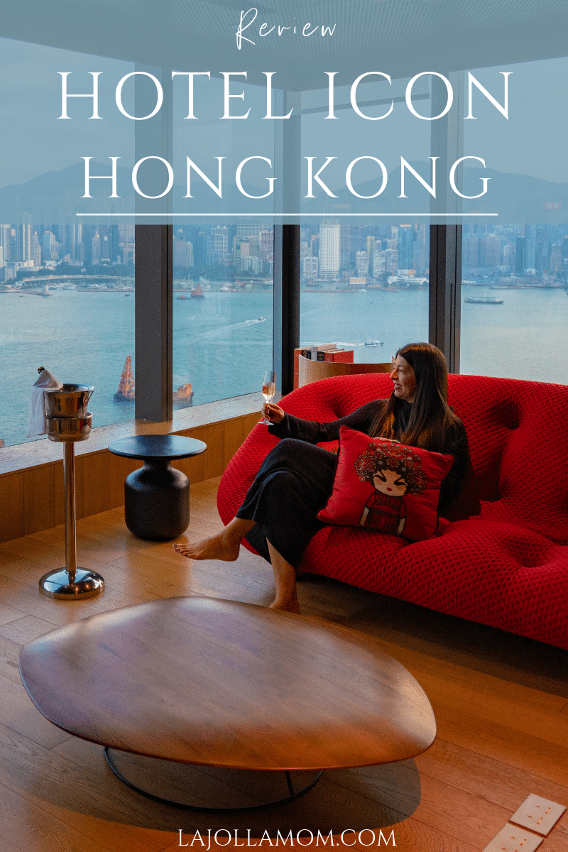 What it's like to stay at Hotel Icon Hong Kong including location, breakfast buffet, in-room amenities and much more from this boutique hotel.