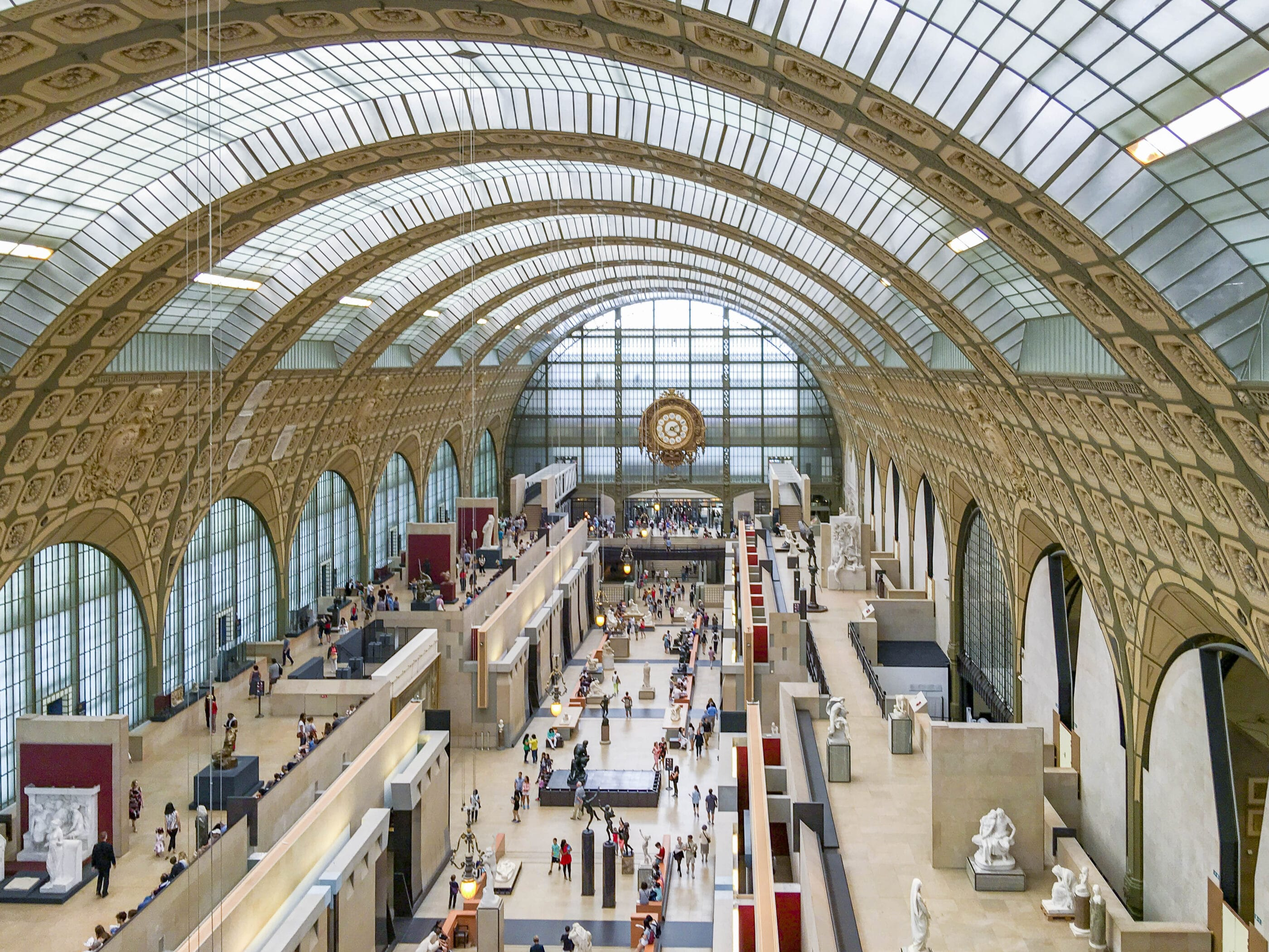 Musee d' Orsay is covered by the Paris Pass and Paris Museum Pass