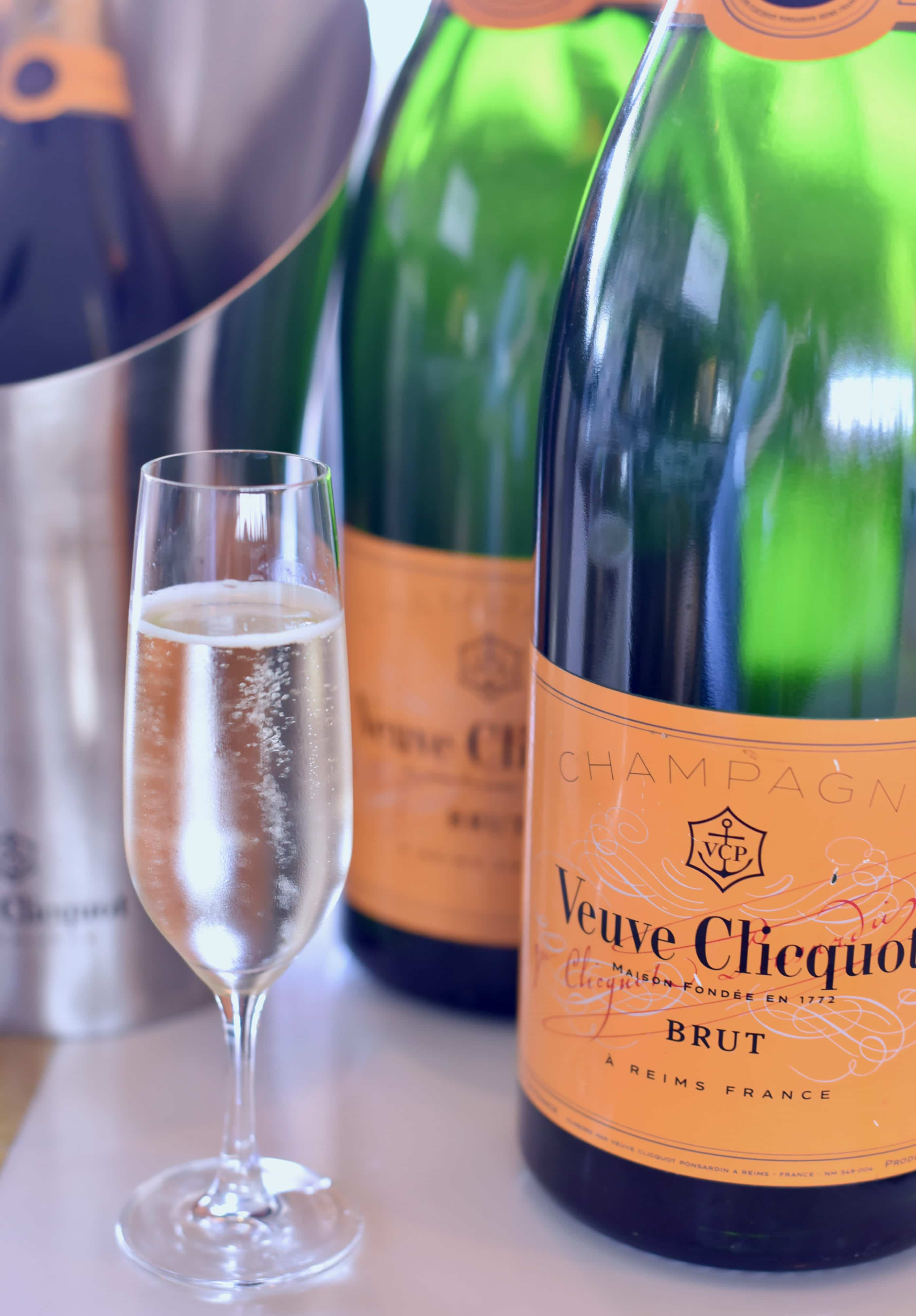 Veuve Cliquot happy hour happens on Wednesday at CUSP Dining and Drinks in La Jolla.