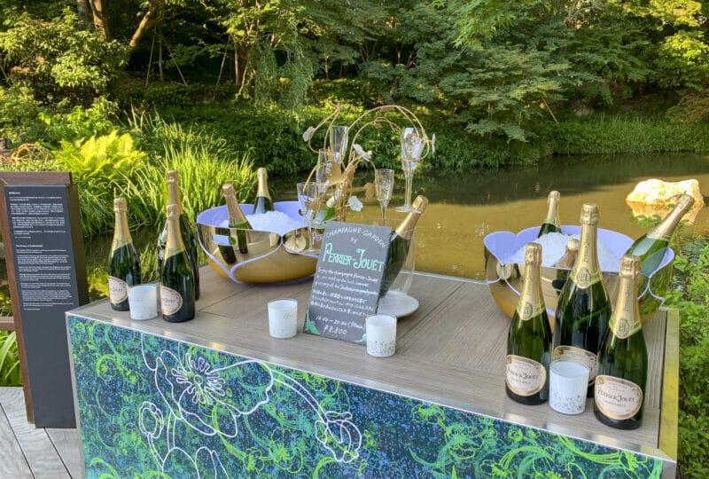 four-seasons-kyoto-perrier-jouet-champagne-garden