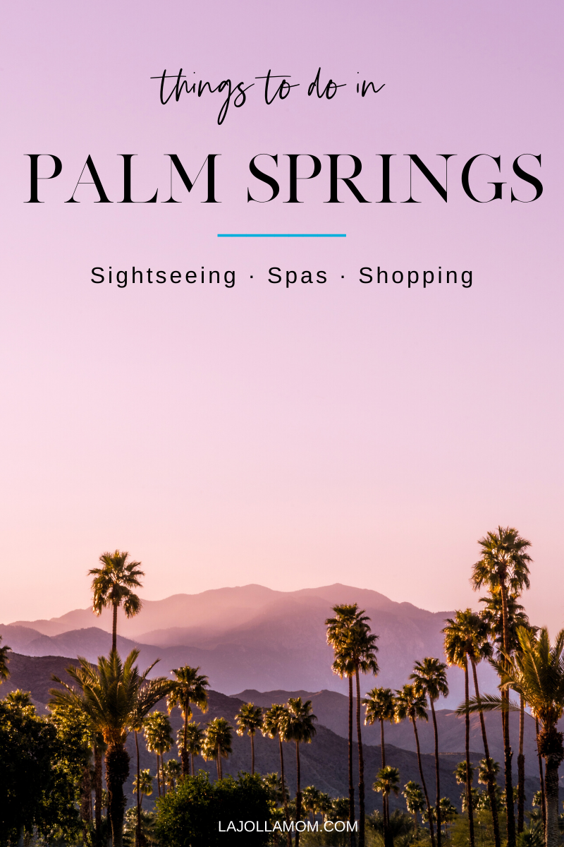 Find the best things to do in Palm Springs, CA from sightseeing to shopping to spas.