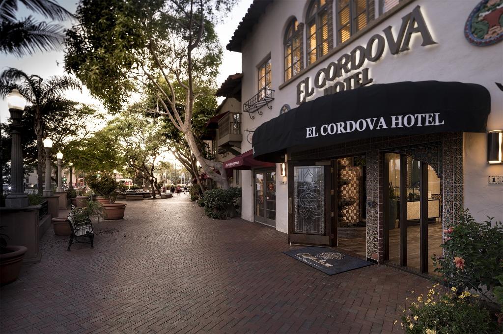 Exterior of El Cordova Hotel in Coronado
