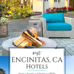 Encinitas hotels mirror the laid-back surf town. They're B&Bs, inns, family-owned motels & budget chains for travelers on a chill beach vacation.