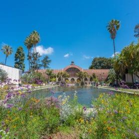 Balboa Park Botanical Building - on a list of San Diego virtual tours.