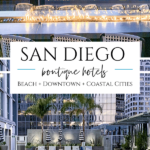 The best boutique hotels San Diego has to offer provide guests with attentive service and customized experiences in beach, downtown and other locations.