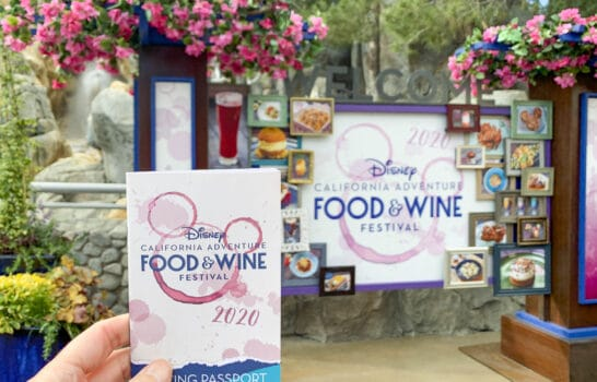Disney California Adventure Food and Wine Festival — Tips & What I Ate