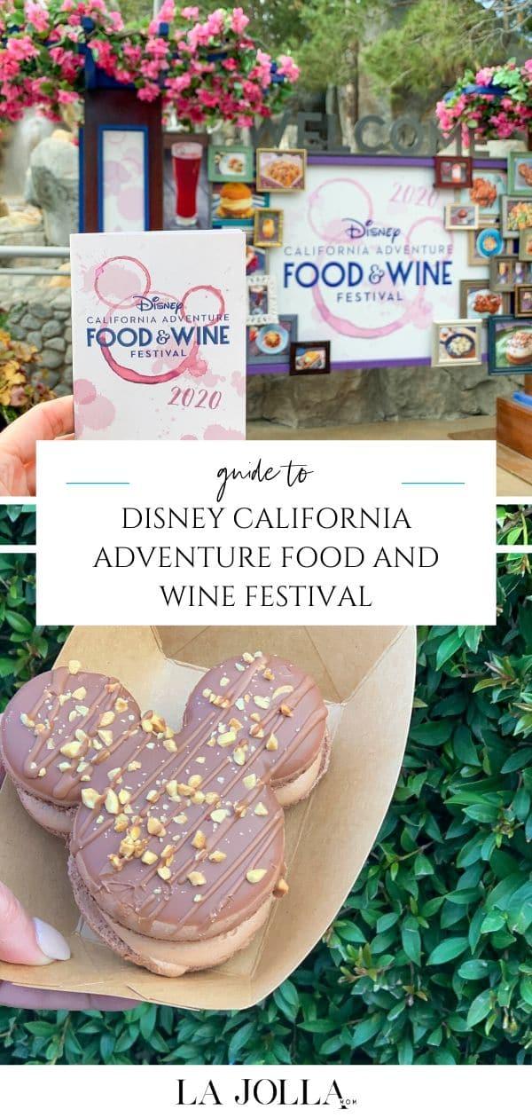Ce que c'est que d'assister au Disney California Adventure Food and Wine Festival, y compris quoi manger et des conseils pour maximiser votre journée.