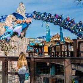 SeaWorld San Diego Manta roller coaster