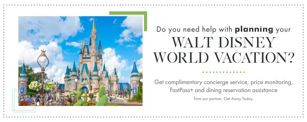 Obtenez de l'aide pour planifier vos vacances à Walt Disney World.