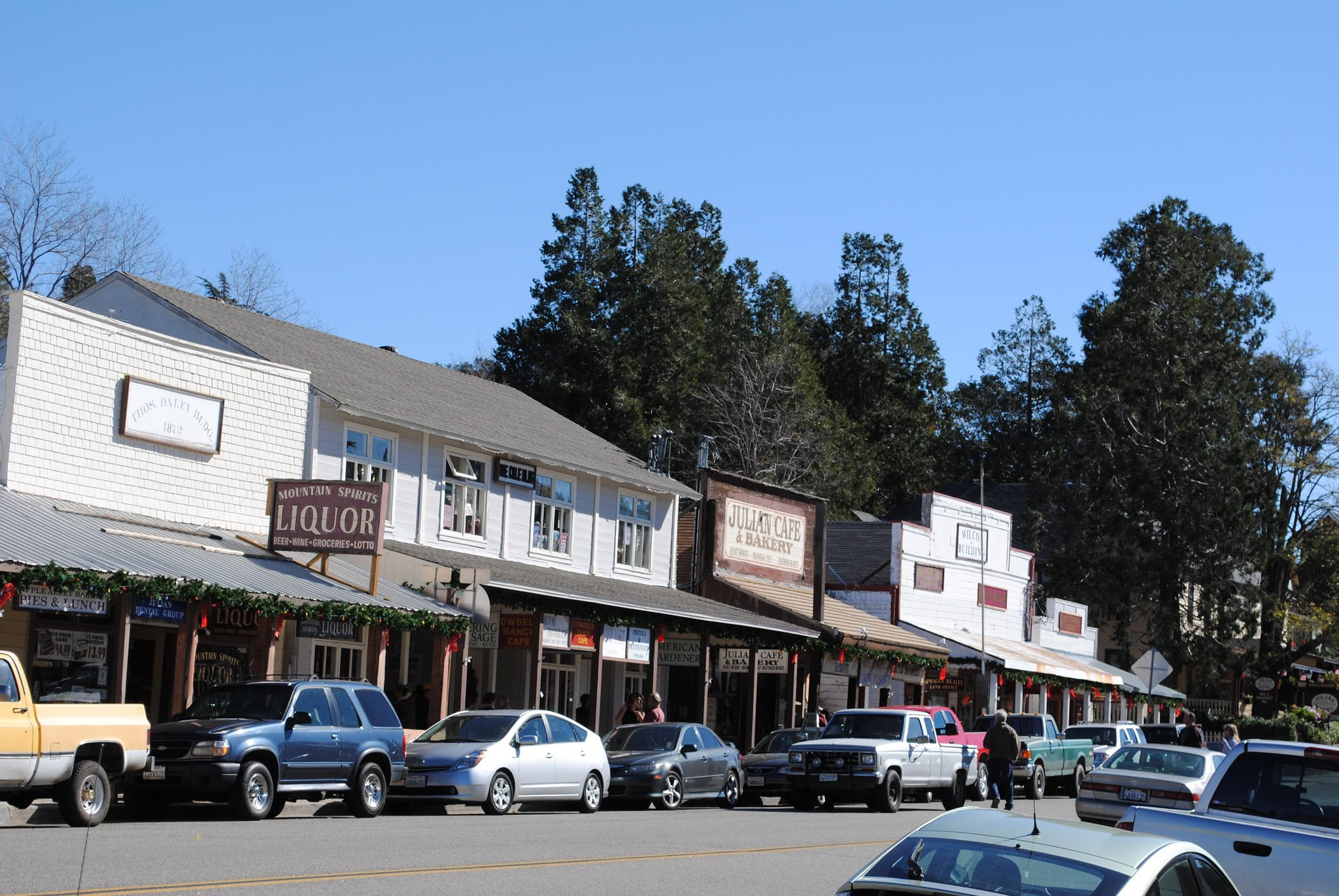 Things to do Julian, California include wandering the small downtown area.