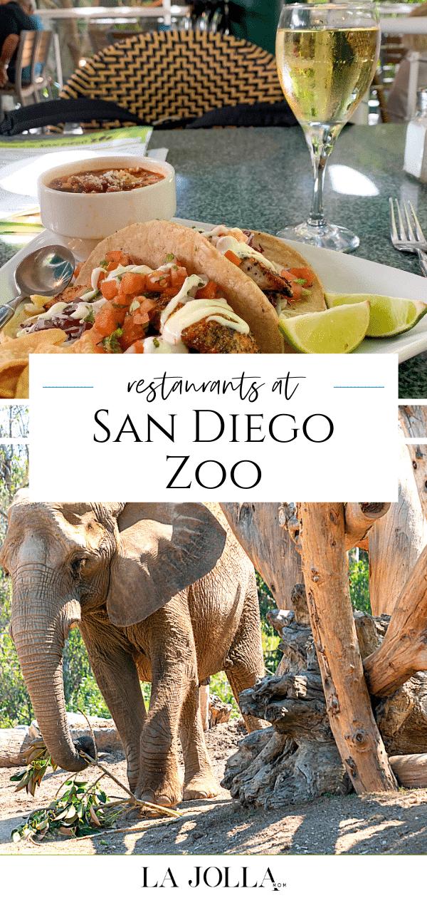 Ce qu'il faut savoir sur les restaurants du zoo de San Diego et les politiques alimentaires de la gastronomie aux bouchées rapides et aux desserts préférés.