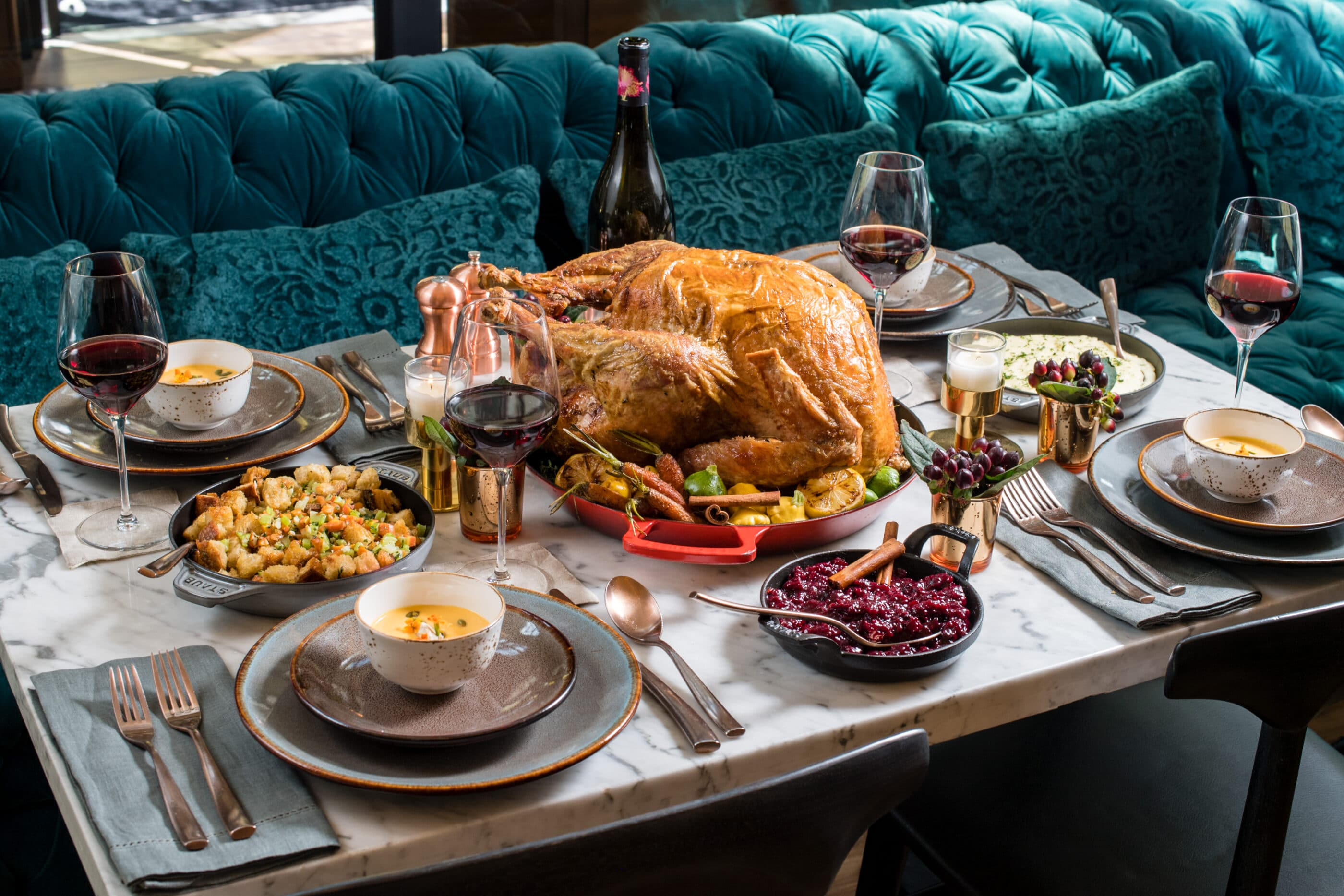 Thanksgiving dinner in San Diego at Pendry San Diego