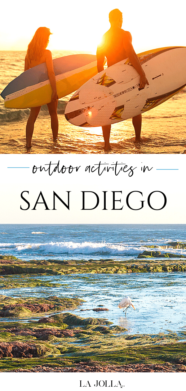 Year-round sunshine makes it easy to enjoy San Diego outdoor activities. Here are some of the best adventures outside from tours to free fun.
