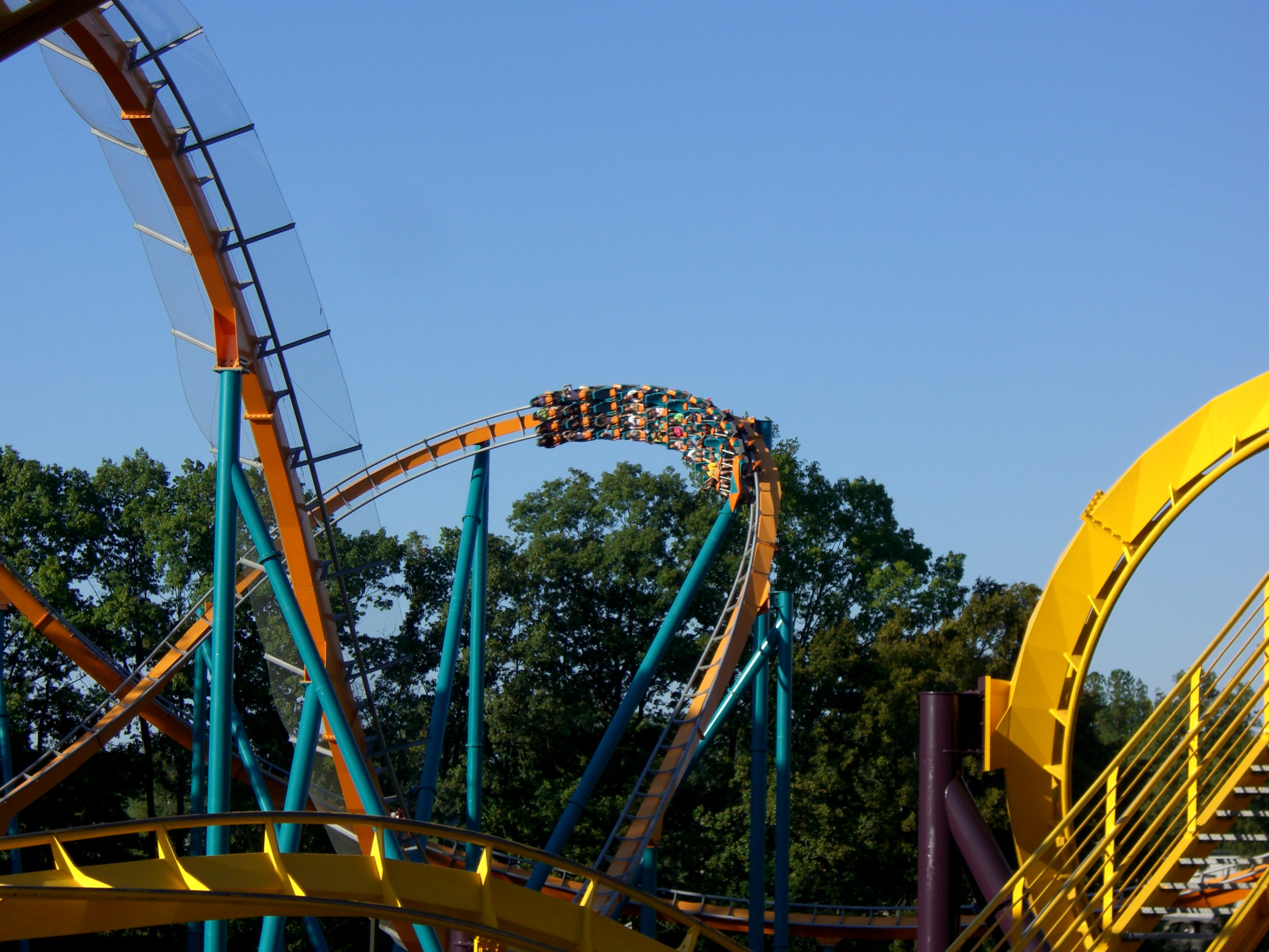 Goliath roller coaster at Six Flags Over Georgia