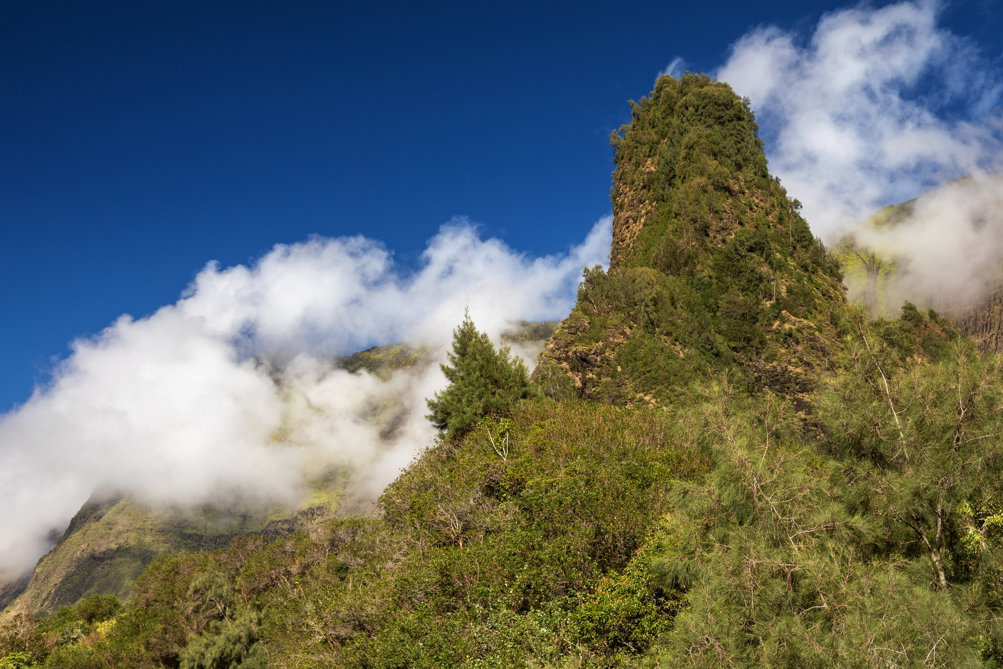 The Needle at Iao Valley State Park in Maui.