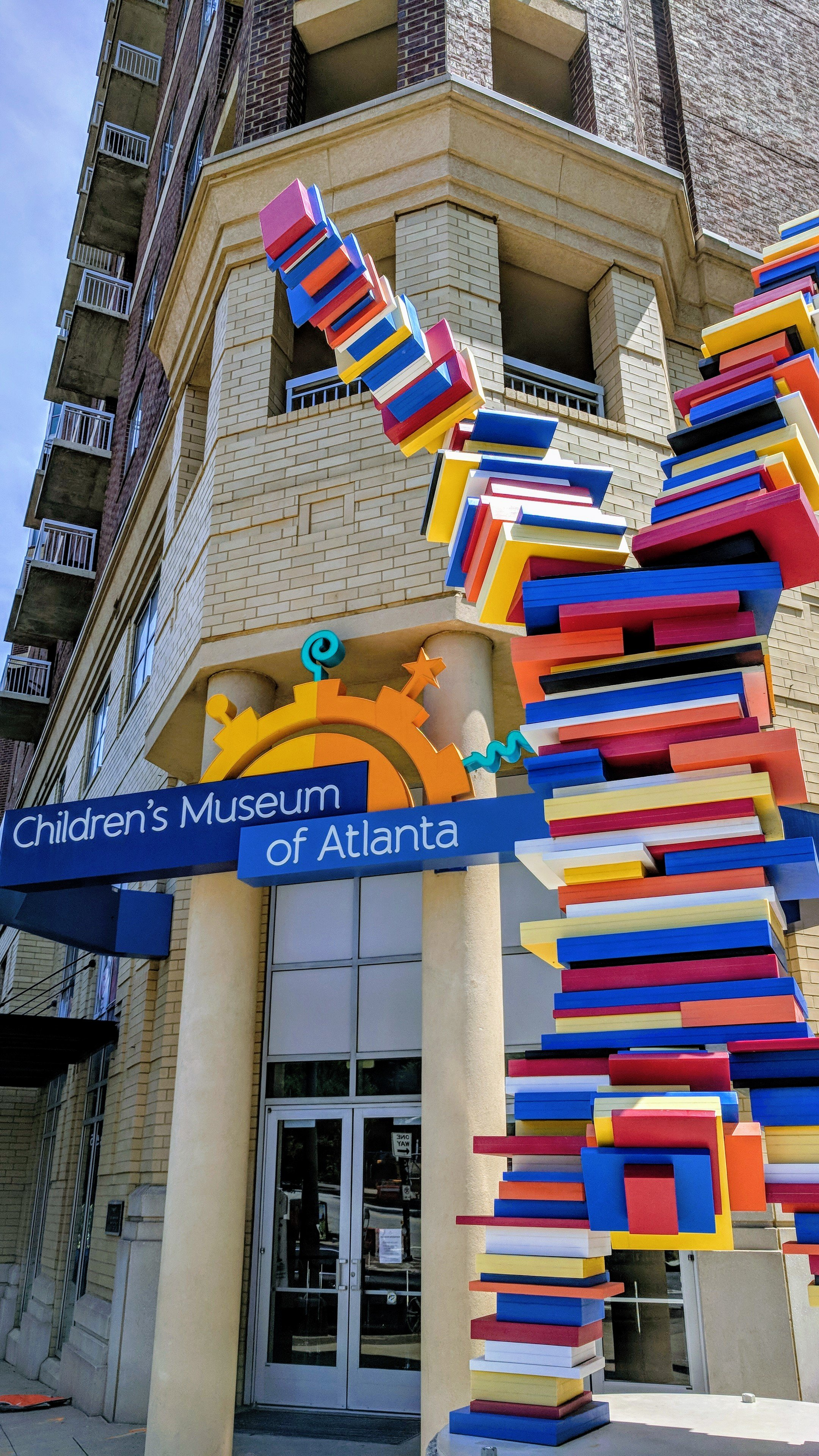 The entrance to Children's Museum of Atlanta.